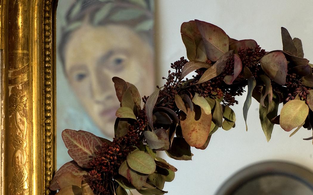 Krans – inredning på Det Franska Testamentet, inredningsbutik i Stockholm