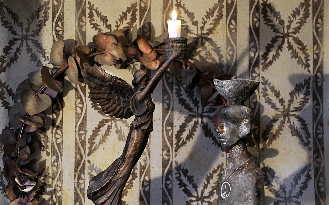 Ljusstake – inredning på Det Franska Testamentet, inredningsbutik i Stockholm