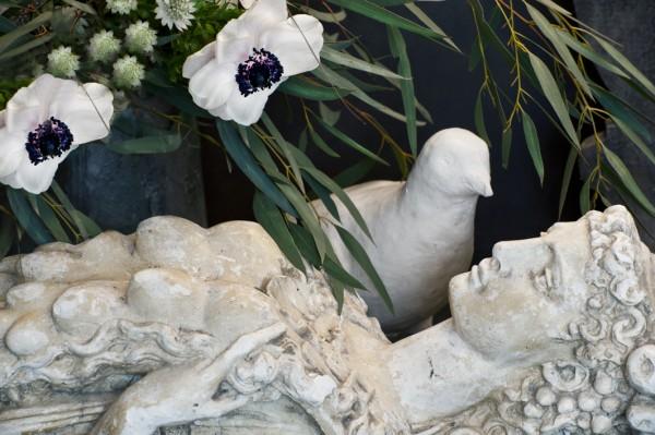 Staty av fruktbarhetens gudinna - inredning