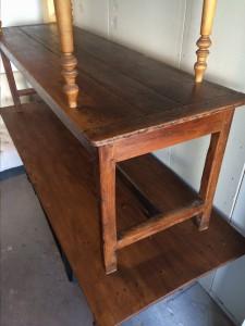 bord tvärslå skiva