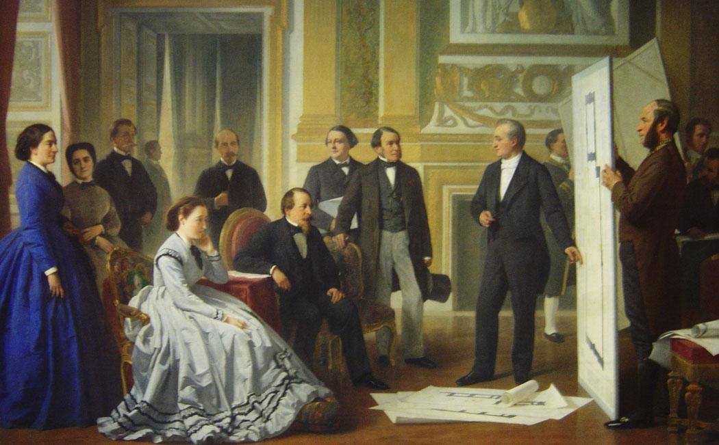 Painting of Napoleon III