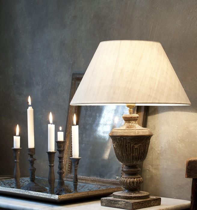 Lampa på Det franska testamentet, inredningsbutik i Stockholm