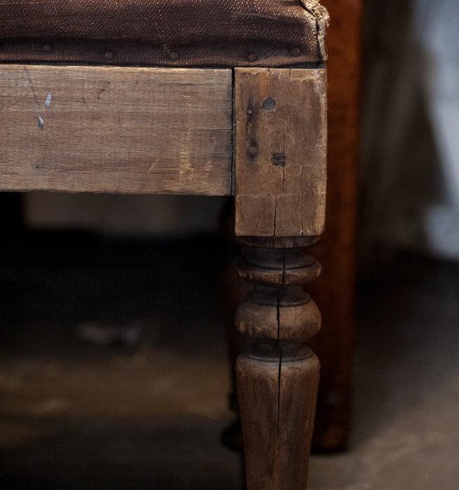 Kyrkobänk på Det franska testamentet, inredningsbutik i Stockholm